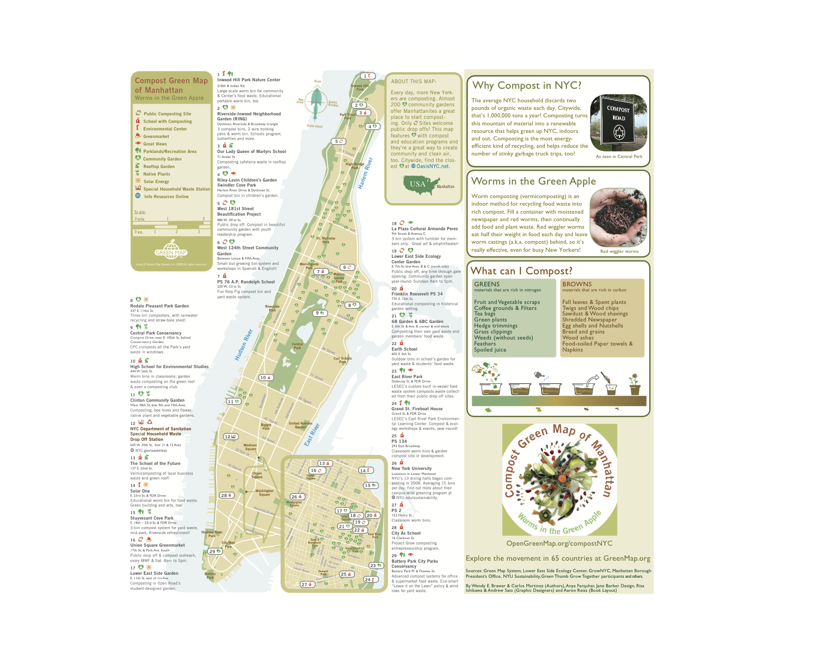 The Composting Green Map helped triple Manhattan's composting rate and raise the status of this climate-savvy practice