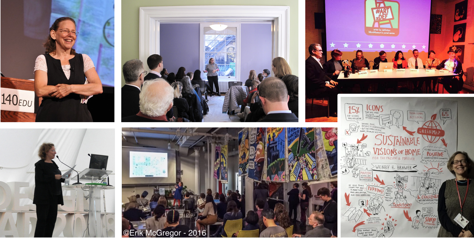 Speaking at #140edu, at Gardens Rising, at the Micro Museum, at the Seoul Design Olympiad, at Sane Energy's Radical Mapping and after keynoting at Visual Methods 4 in Brighton UK