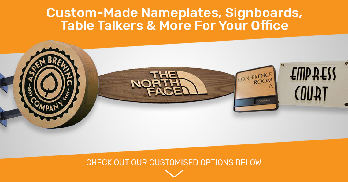 Customised Name Plates Signages And