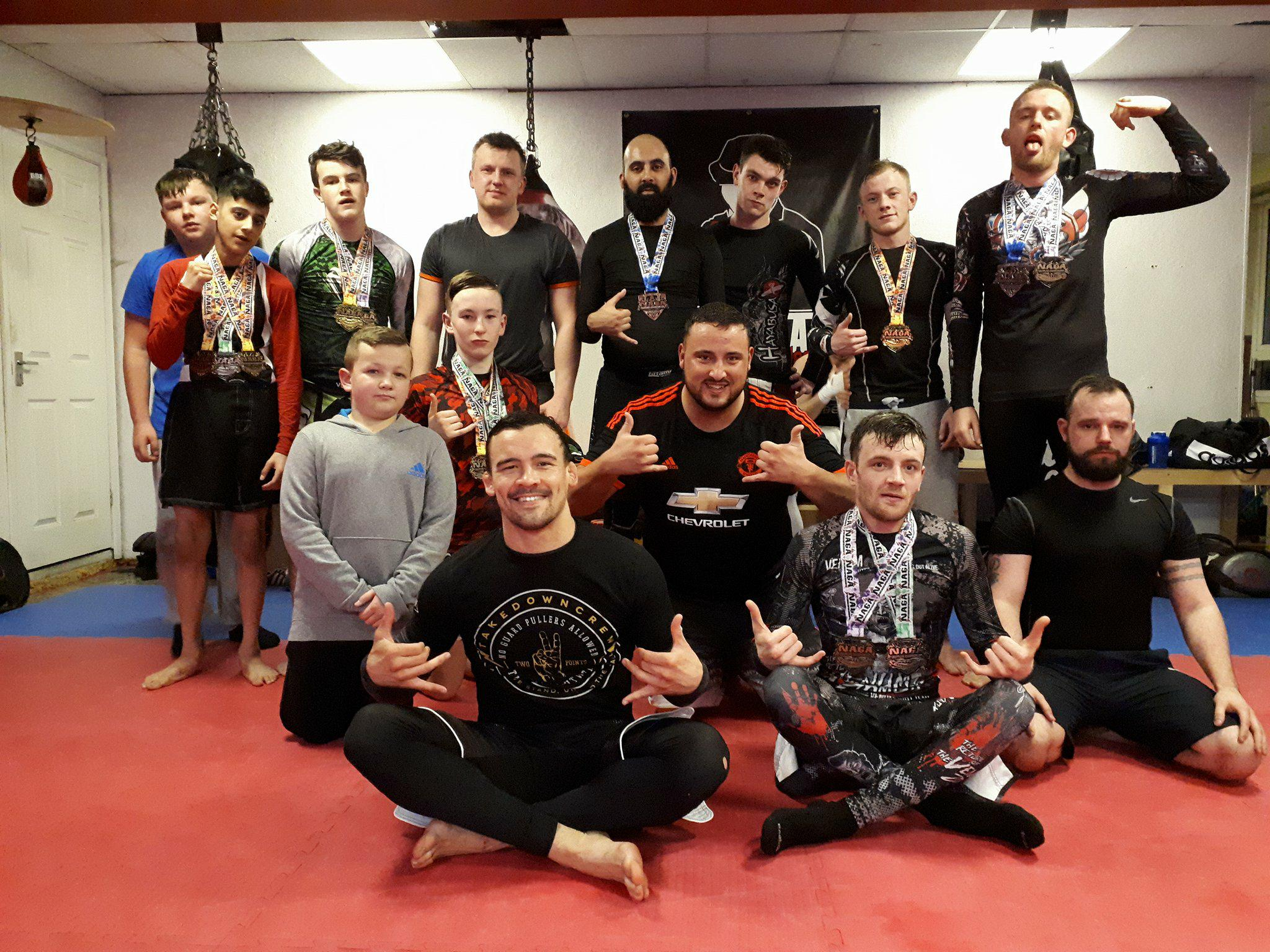 NAGA Birmingham Success! - Great showing for the team at NAGA Birmingham. The Medal count stood at 6 Golds, 8 Silvers, 3 Bronze and a NAGA Championship belt.10/04/2018