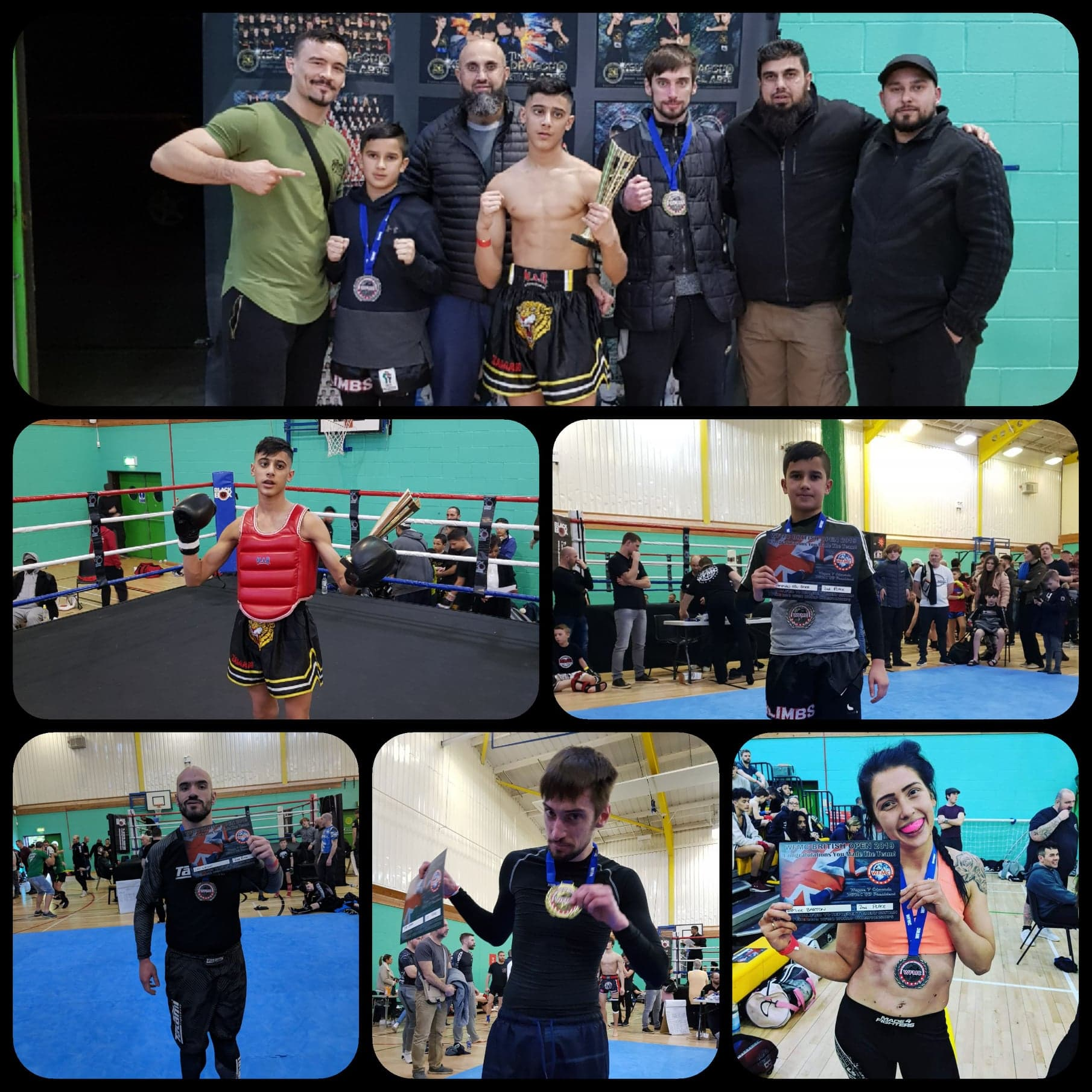 British International Open! - Five competed across K1 and Submission Grappling in the British International Open. The team left with 2 Golds and 3 Silvers.09/02/2019