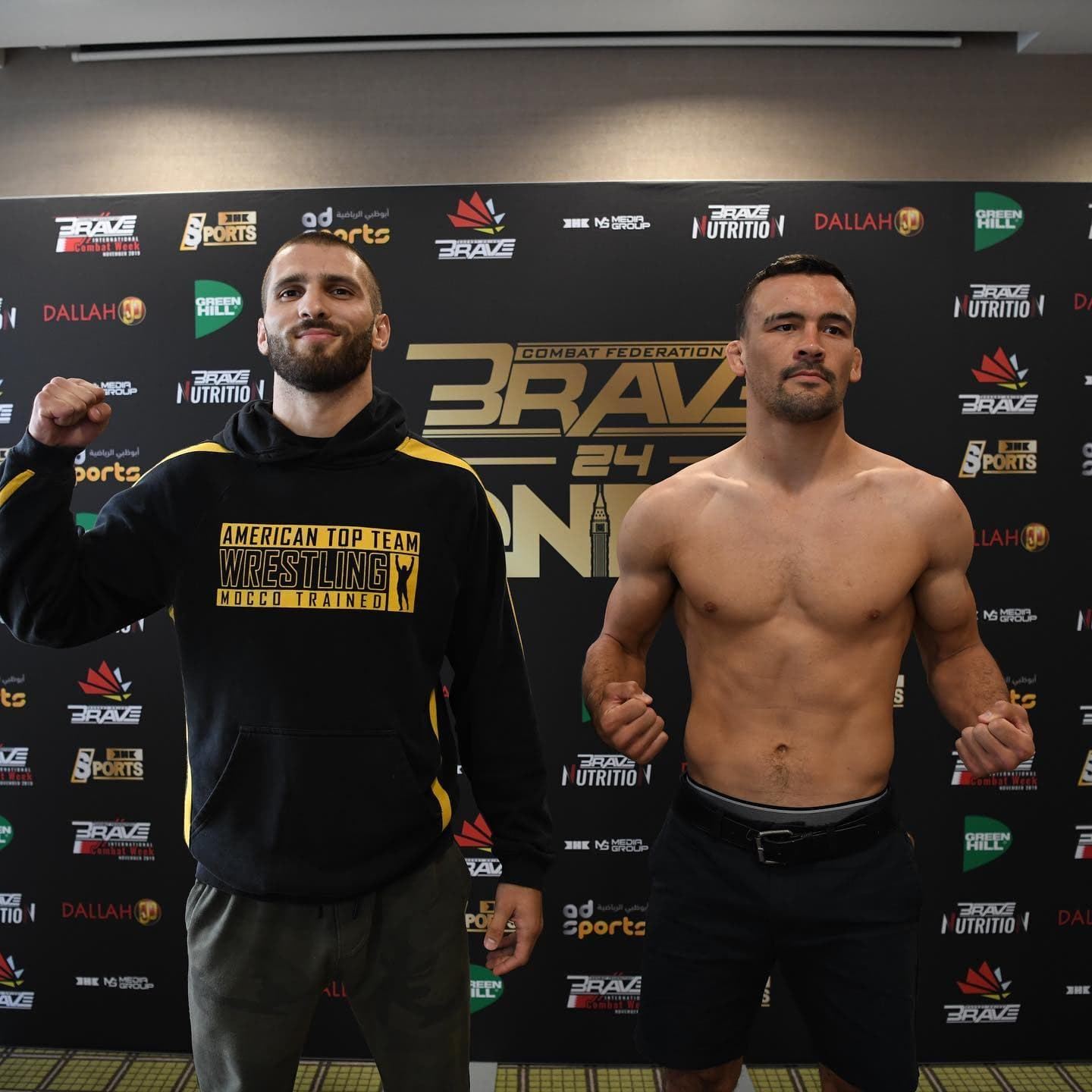 Brave Combat Federation - John Robinson makes his debut on Brave Combat Federation at Brave 24 London.24/07/2019