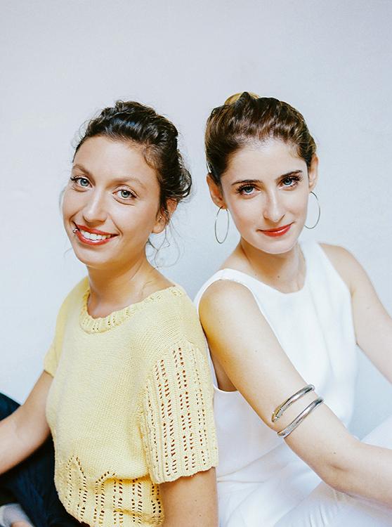 Lisa Saignol & Mathilde Rinck - © Ksénia Vysotskaya