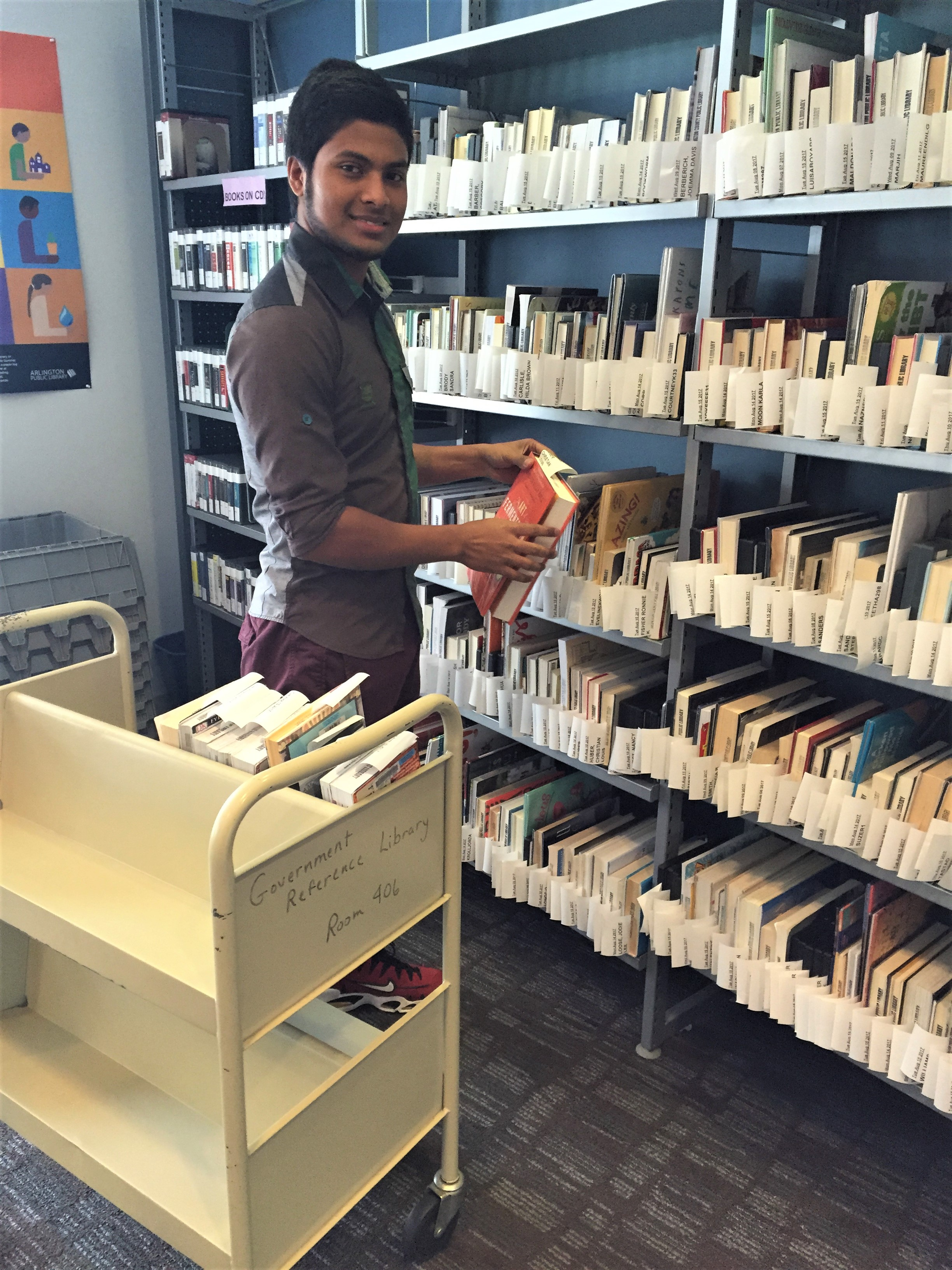 Mohammad Kaesh at Arlington Public Library -.JPG