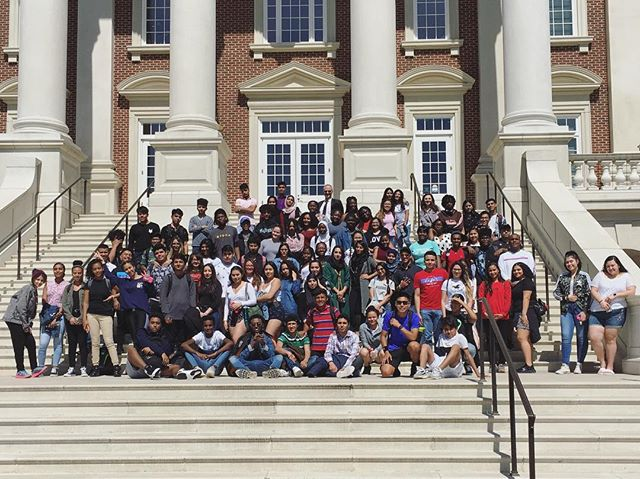 During spring break all our NOVA programs visited Christopher Newport University to learn about options for college!