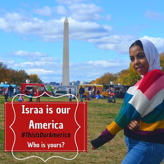 #ThisIsOurAmerica - Israa is one of our amazing alumni studying Business Administration at NOVA - she is the future of America. What is your America ? Show us by using the hashtag #ThisIsOurAmerica  #LibertysPromise #immigrantyouth