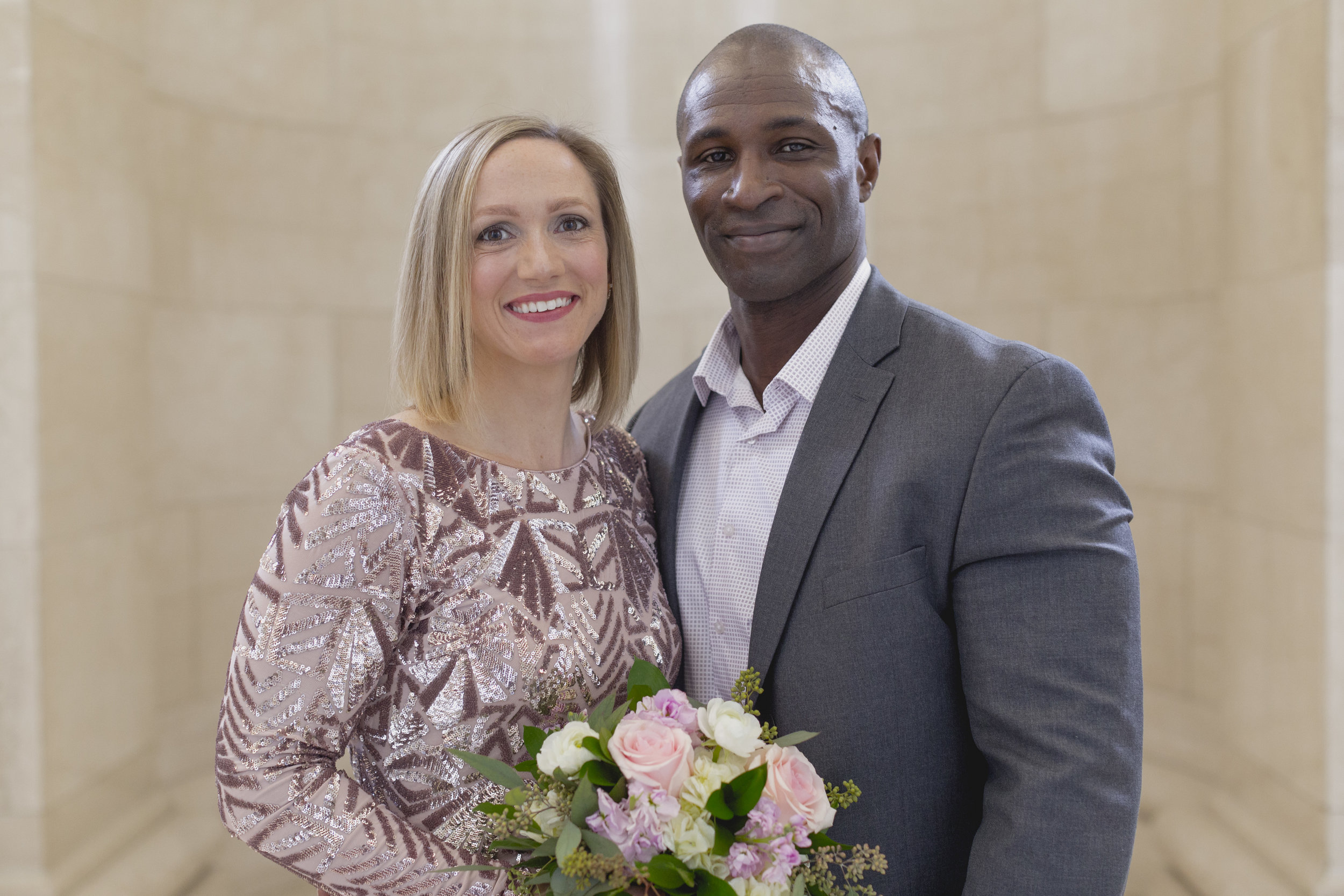 Harry and Deahdra's Wedding at the Milwaukee County Courthouse in Milwaukee, Wisconsin