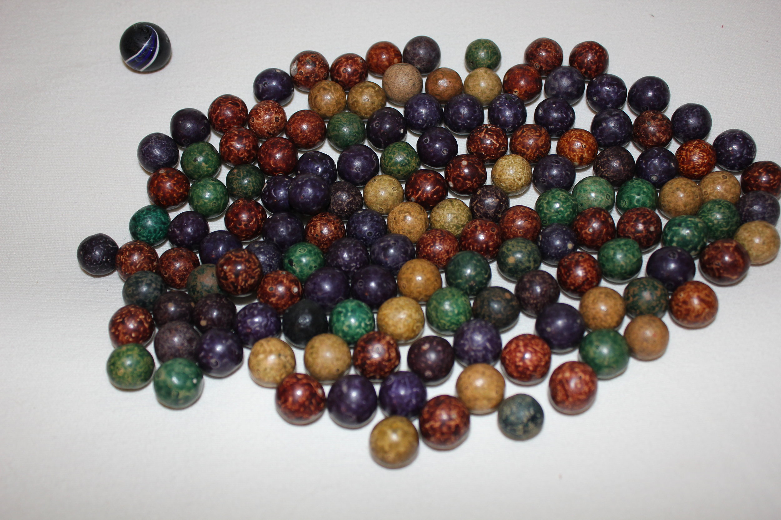 Antique Clay Marbles Antiquities And