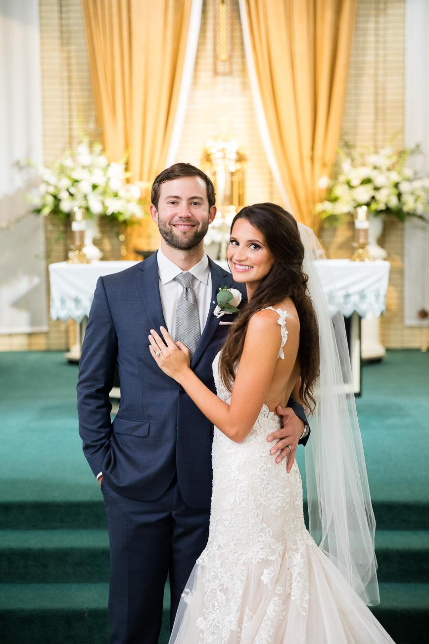 The brand new Mr. and Mrs. Rademacher!