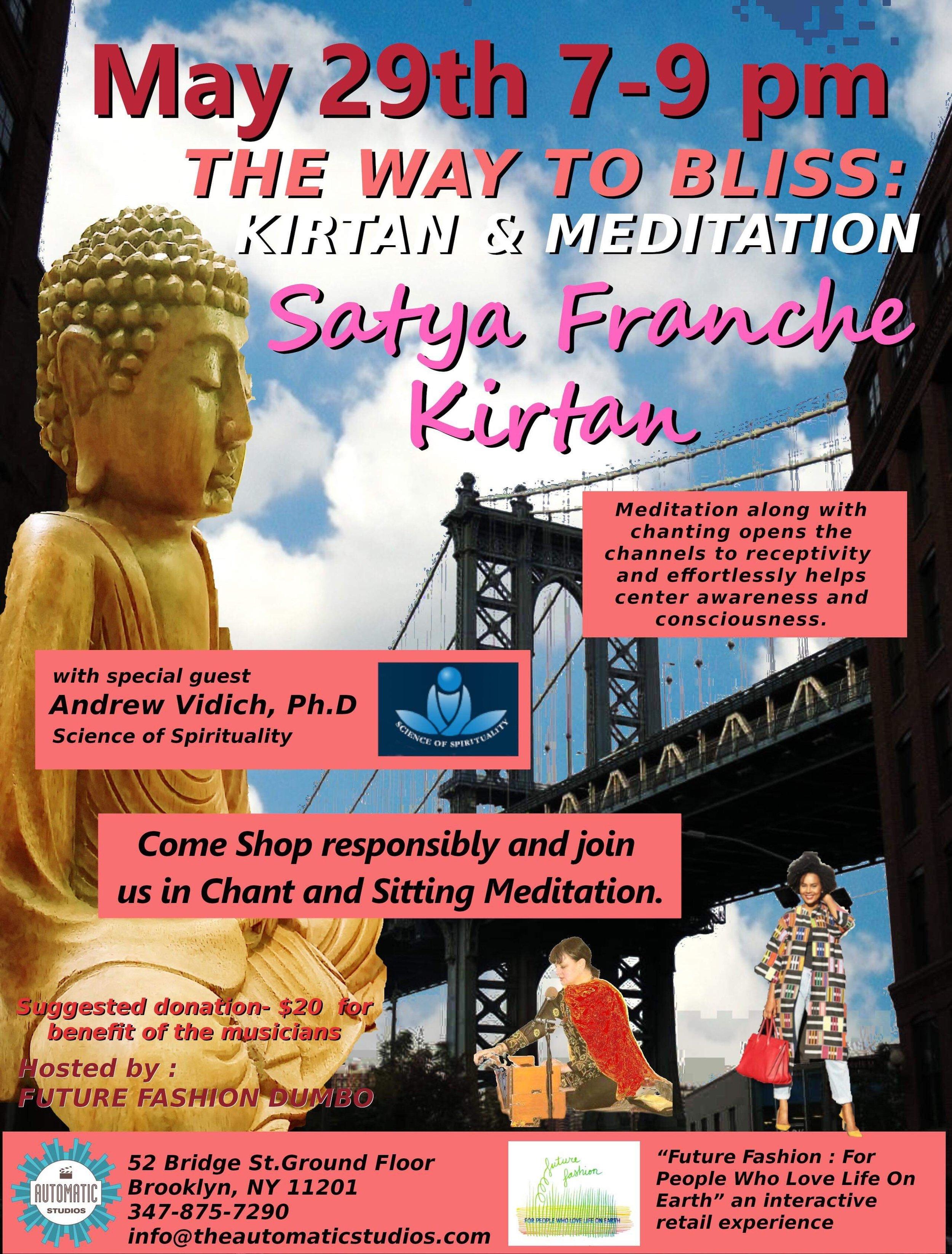 Kirtan and Meditation