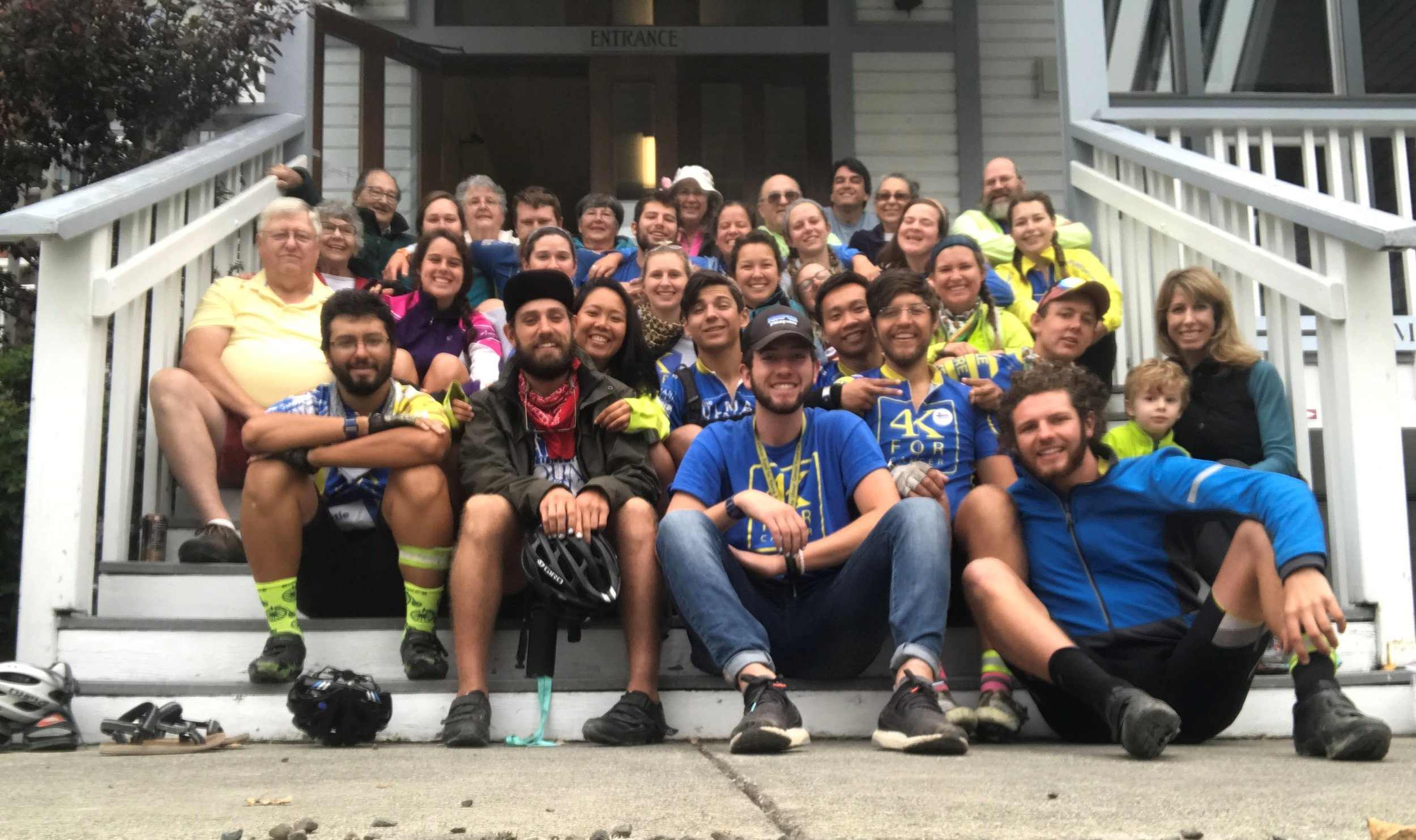 Hosting 4K for Cancer Riders in 2017