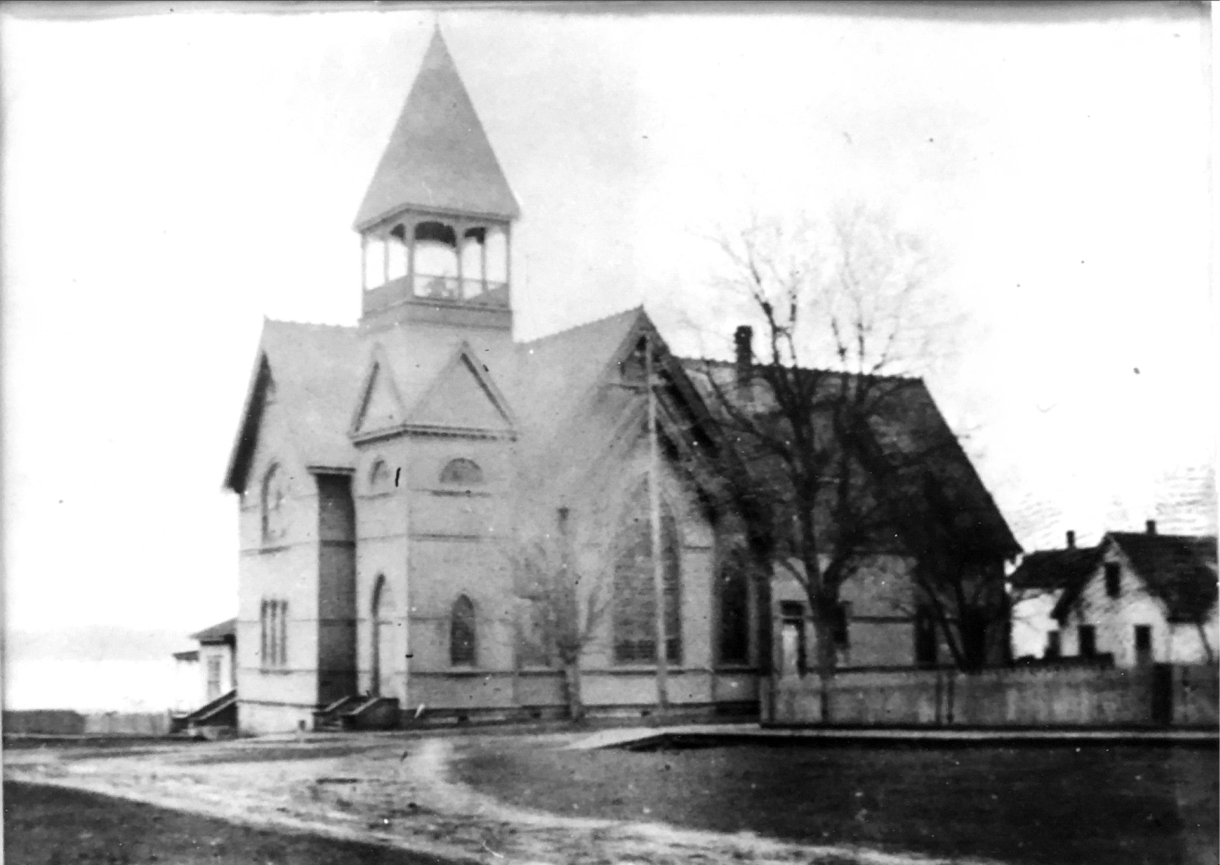 The new church building (ca. 1890)