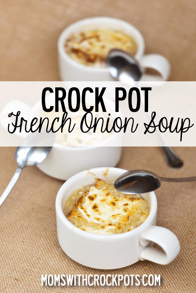 french onion soup - momswithcrockpots.com