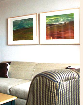 Deborah Freedman. Gurneys Inn. Montauk, NY