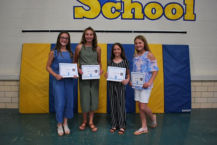 Volleyball B Team Award Winners: Nora Jones- Most Digs Madison Stevens- Most Kills Emily Gottman- Attitude Sarah McCorkle- Most Ace