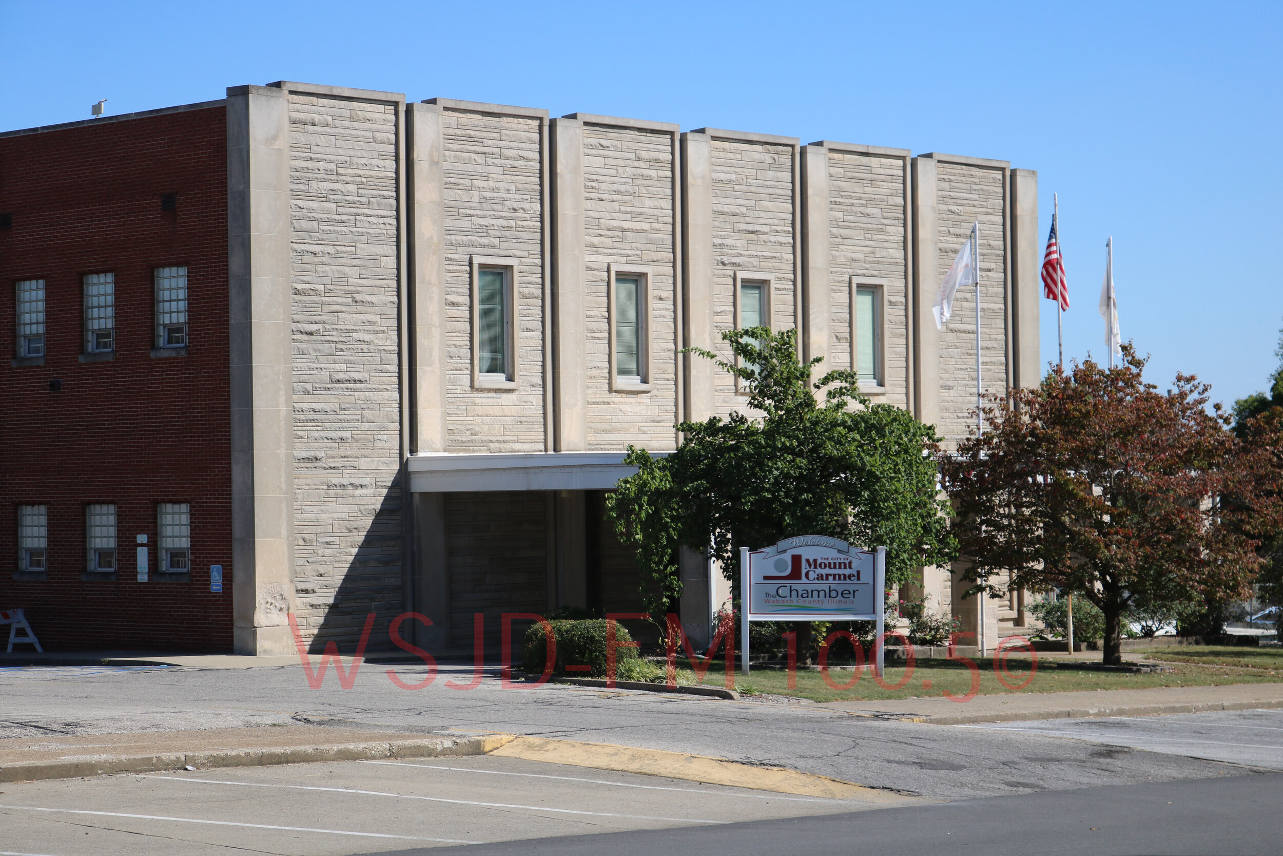 The former location of Mt. Carmel City Hall and Elks Club.
