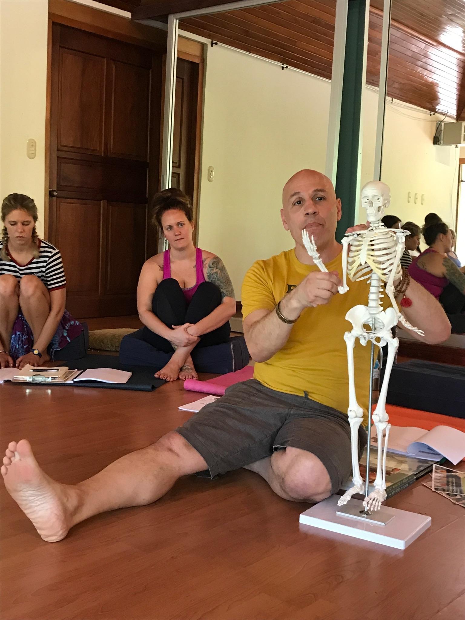 Kamesh Peter Iocovello Yoga Teacher Training