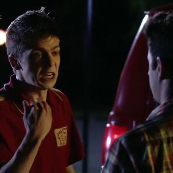 Not having it! #FlashbackFriday to when I played Ricky the pizza boy on Blue Mountain State.
