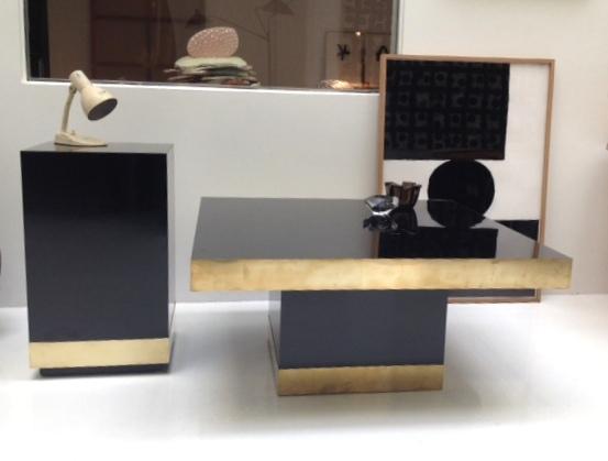 Mesa en formica y latón - Se hace a medida