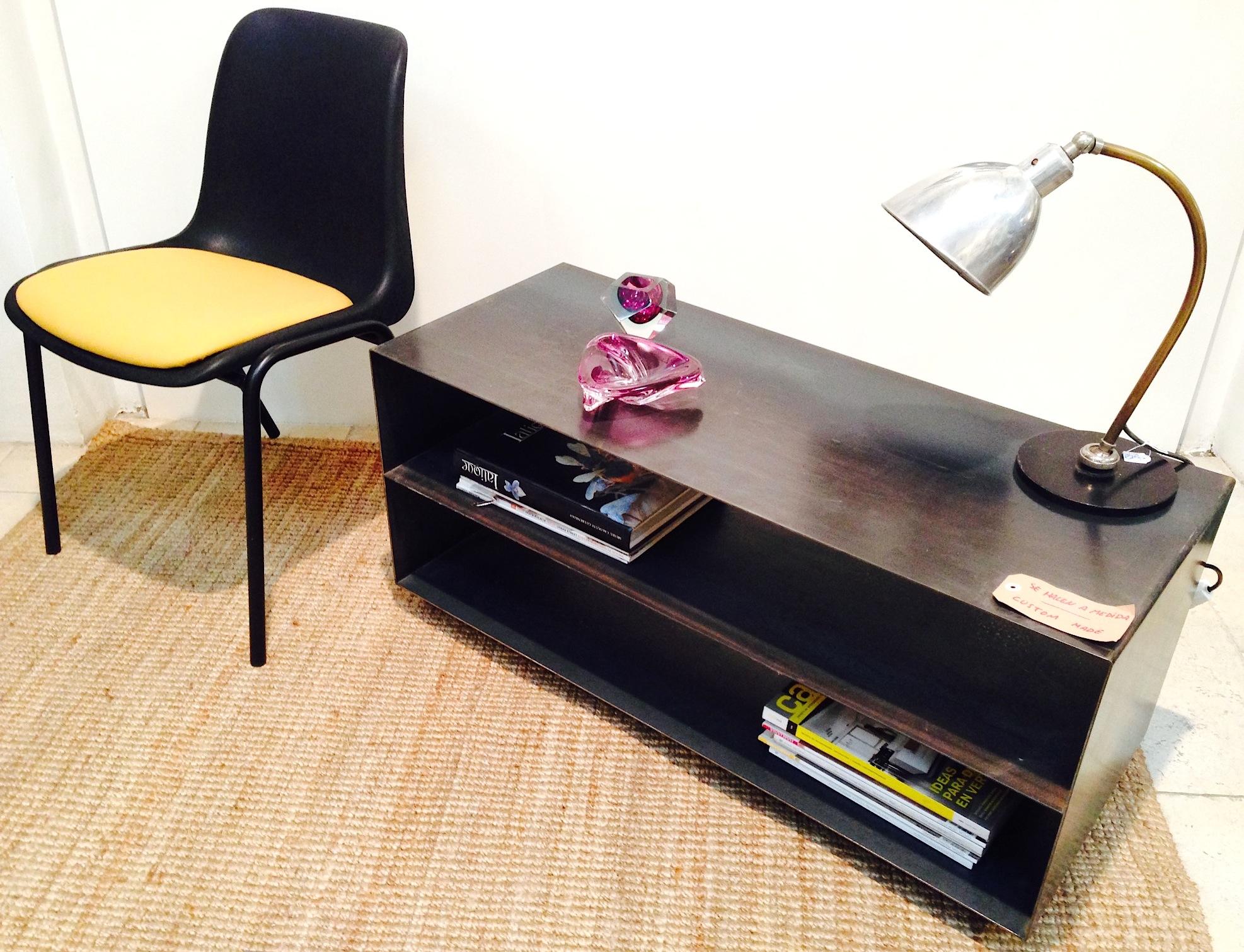 Mueble de hierro para TV - Se hacen a medida
