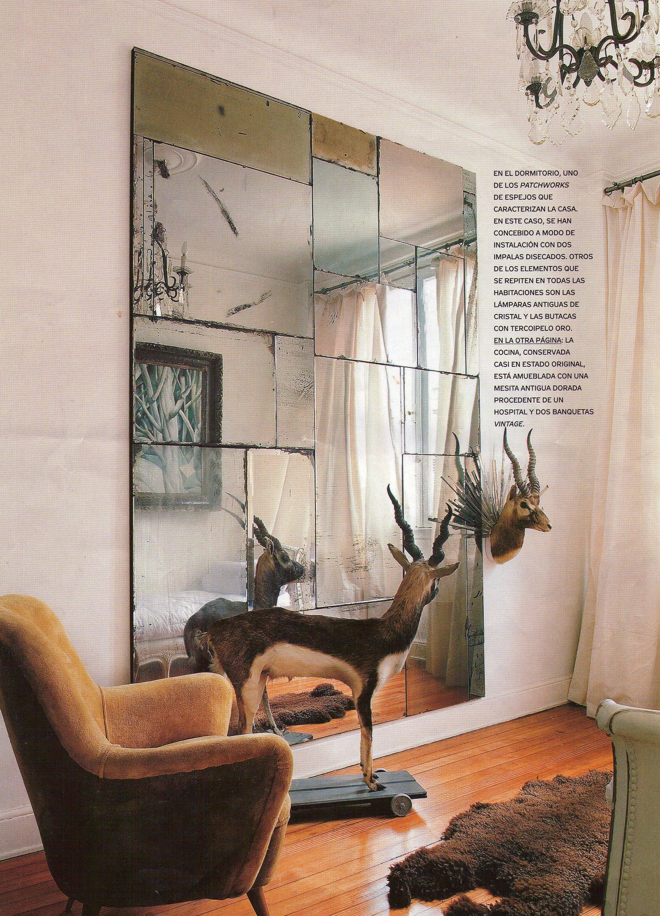 Patchwork de espejos antiguos y envejecidos - Se hace a medida