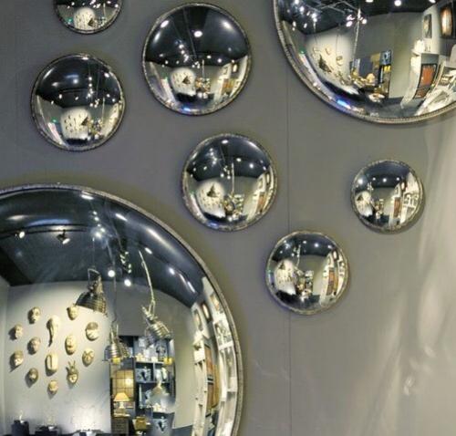 Espejos convexos marco níquel