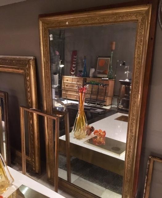 Espejo frances pan de oro