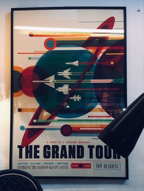 Poster enmarcado Bauhaus