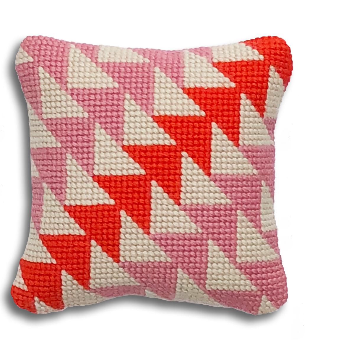 Geometric Triangles mini kit    Pink and orange colourway  £16  (includes free UK postage)