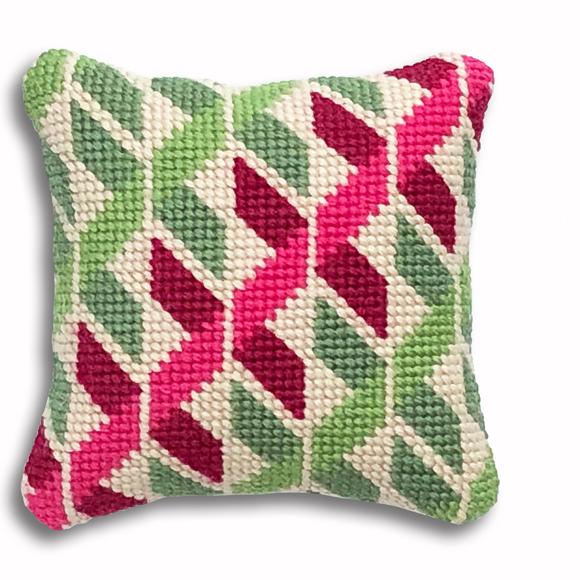 Geometric Twists mini kit  Green and pink colourway  £16  (includes free UK postage)