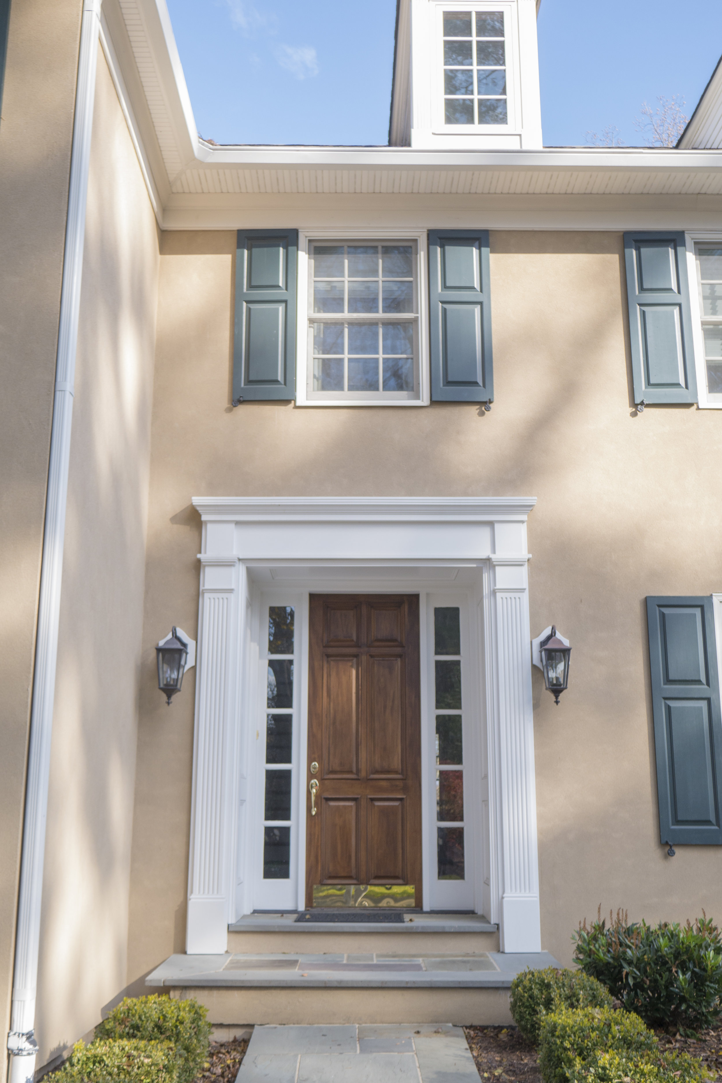 Welcome home! The raw beauty of stucco can be displayed for years when installed correctly.