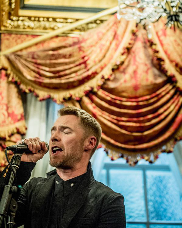 Thank you for the songs Ronan Keating - #hotelschoollondon The fabulous Ronan Keating @rokeating singing to our guests at the Hotel School launch event.