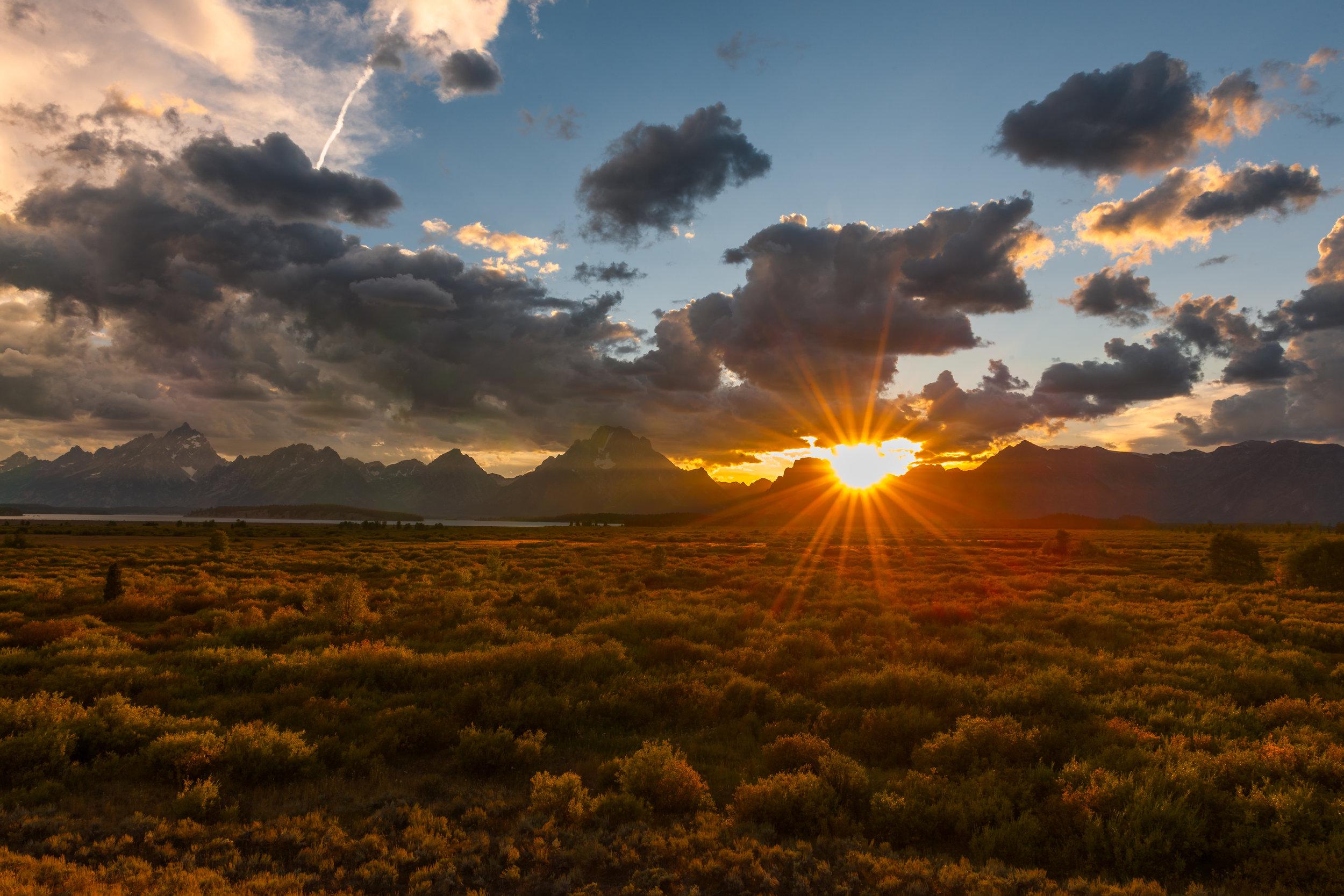 Grand Teton National Park, USA ISO50 F16 1/25th at 24mm