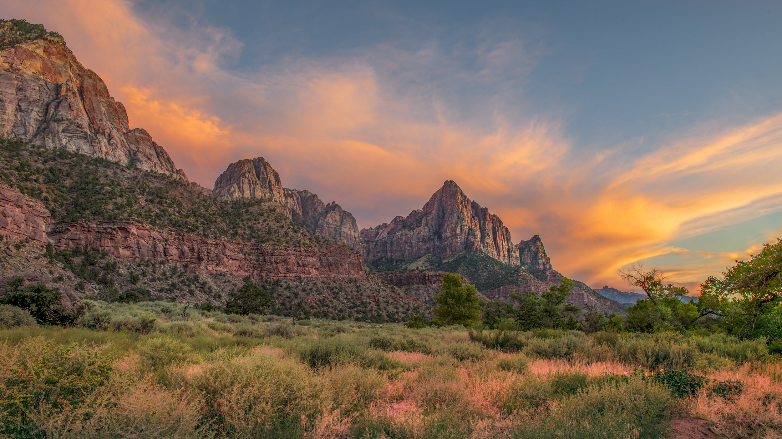 "The Watchman, Zion National Park, USA ISO50 F11 0.4"" at 24mm"