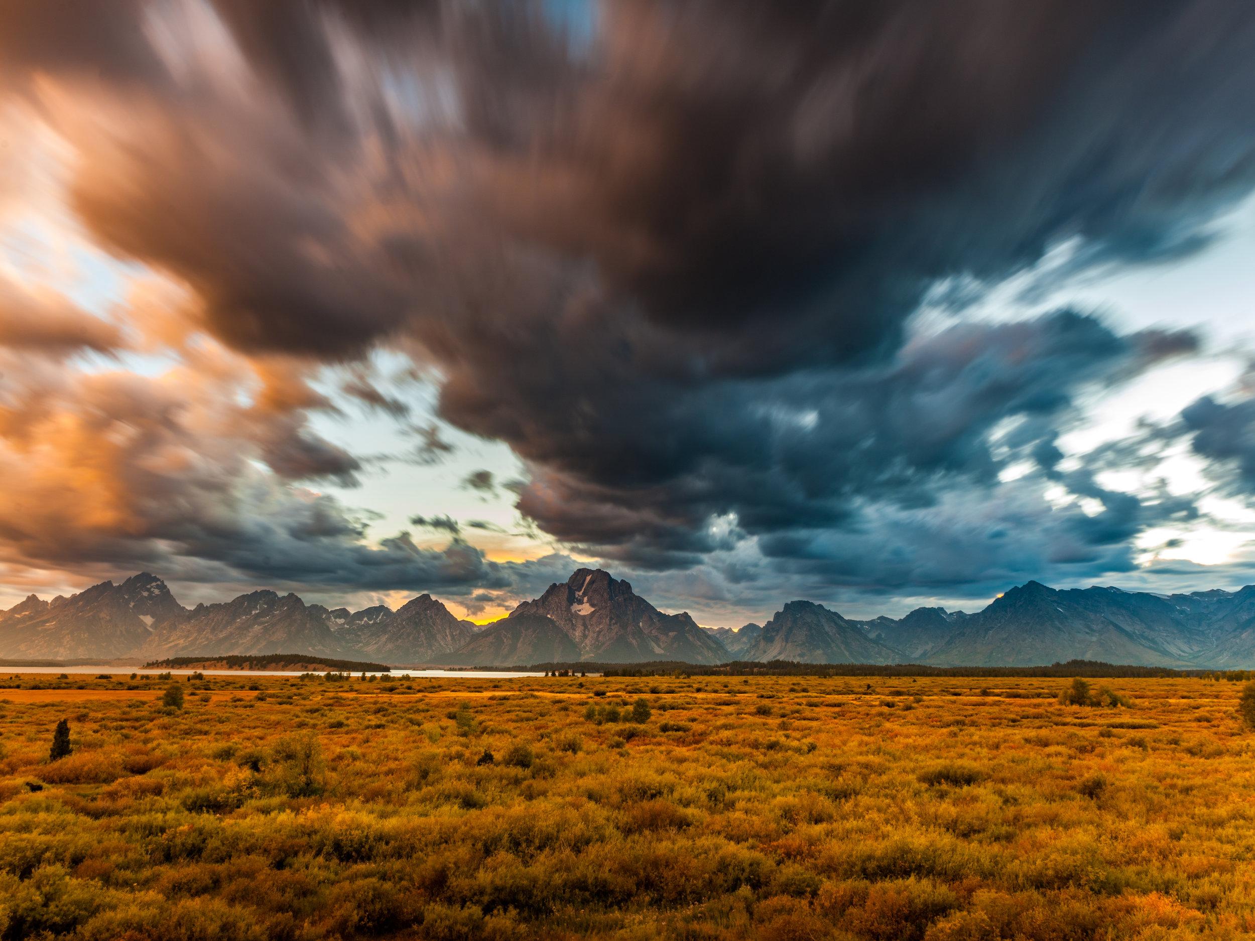 """Grand Teton National Park, USA ISO50 F11 30"""" at 24mm"""