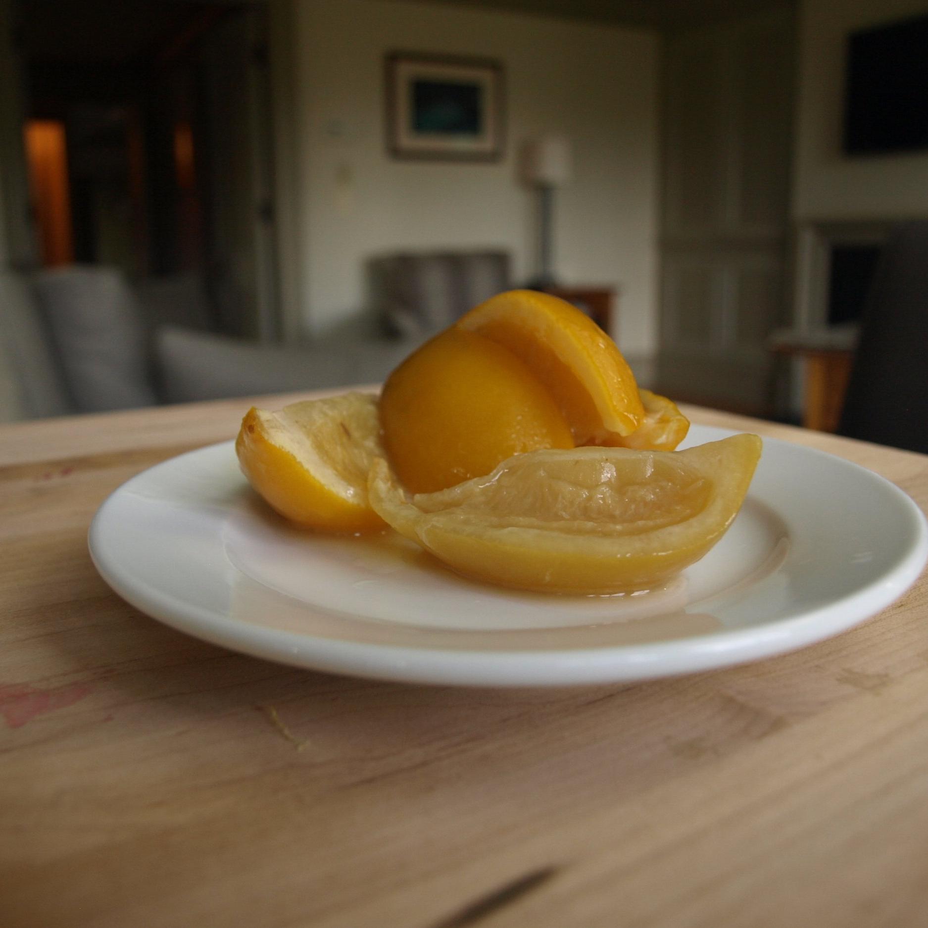 Lemon, Preserved