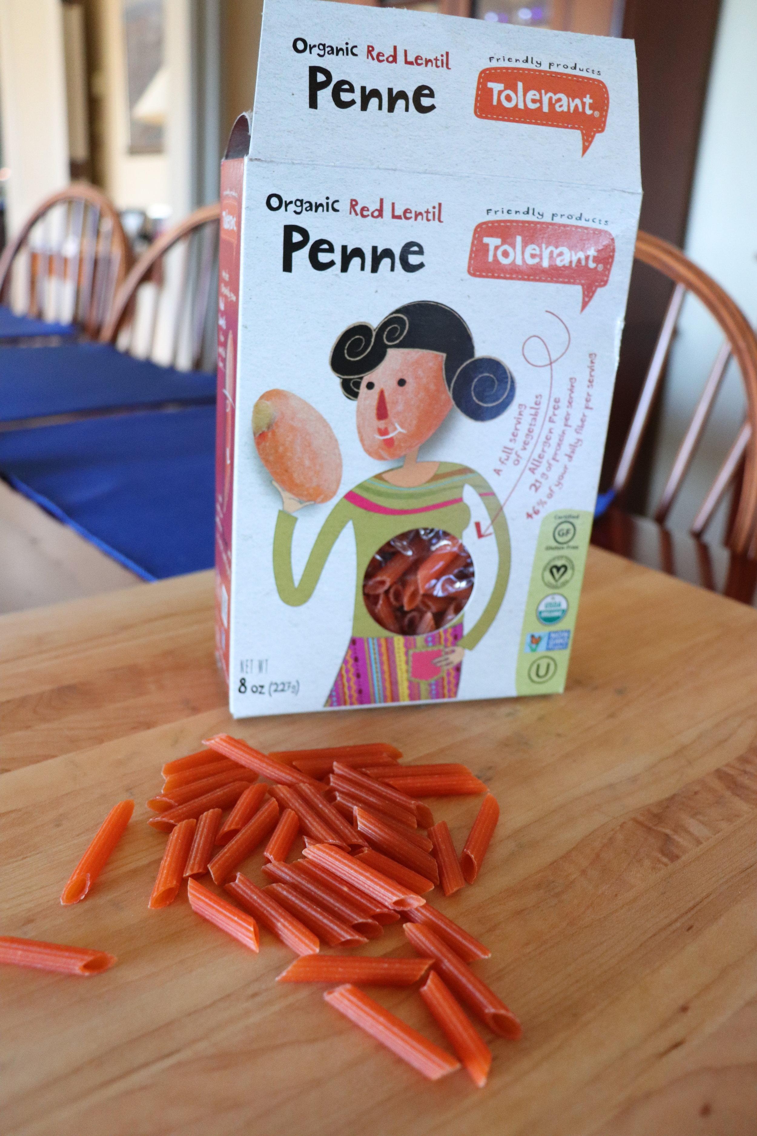 My gluten-free pasta vote goes to red lentil.