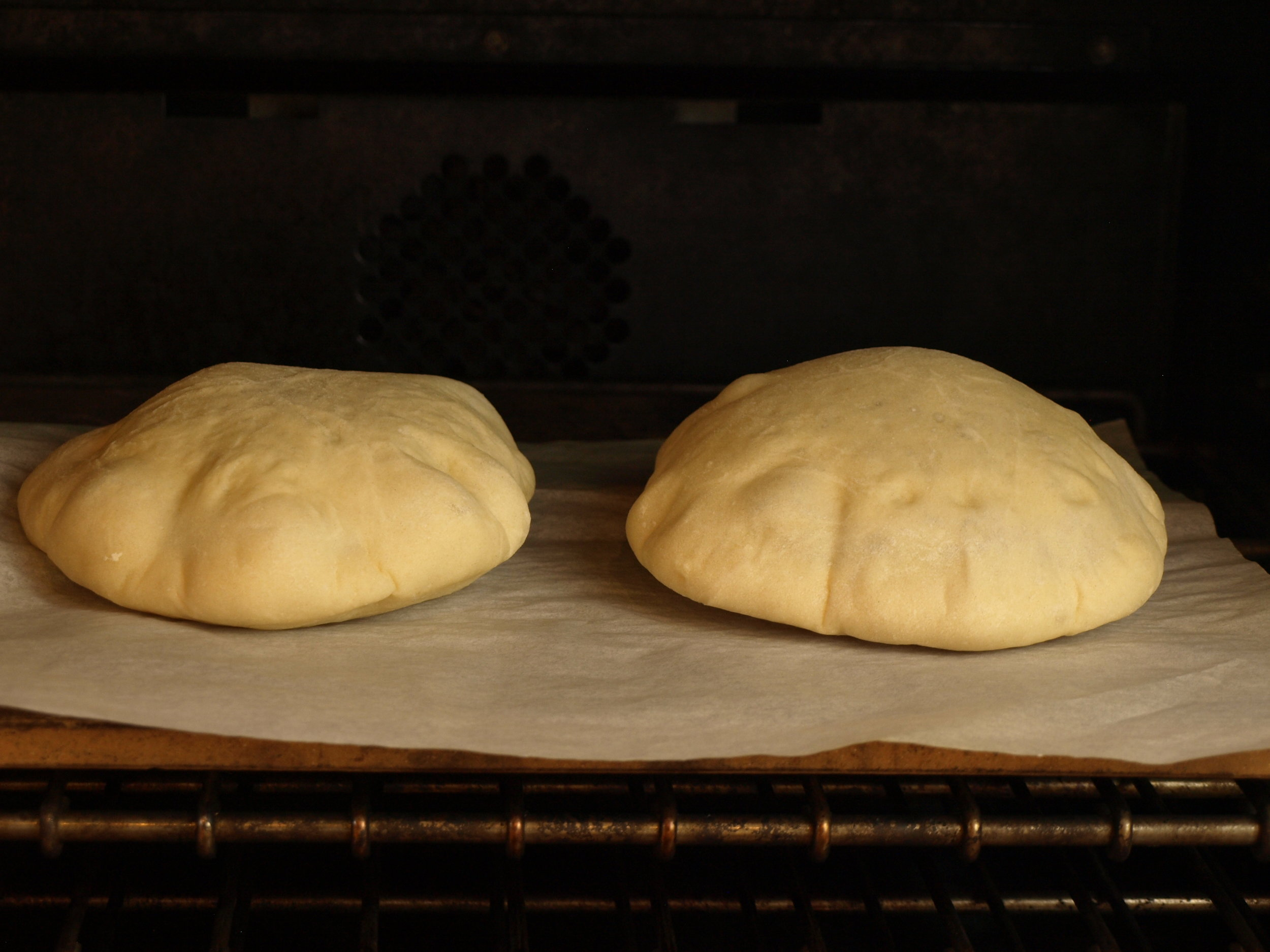 Pita Bread - Tangzhong Method