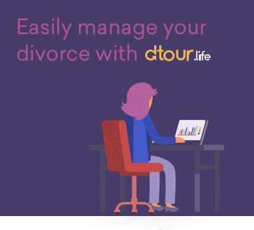 Manage your divorce with dtour.life - Divorce requires the documentation of every aspect of your financial life.dtour.life guides you through the process of gathering and documenting these details, generating easy-to-read reports, and digitally sharing them with the experts.