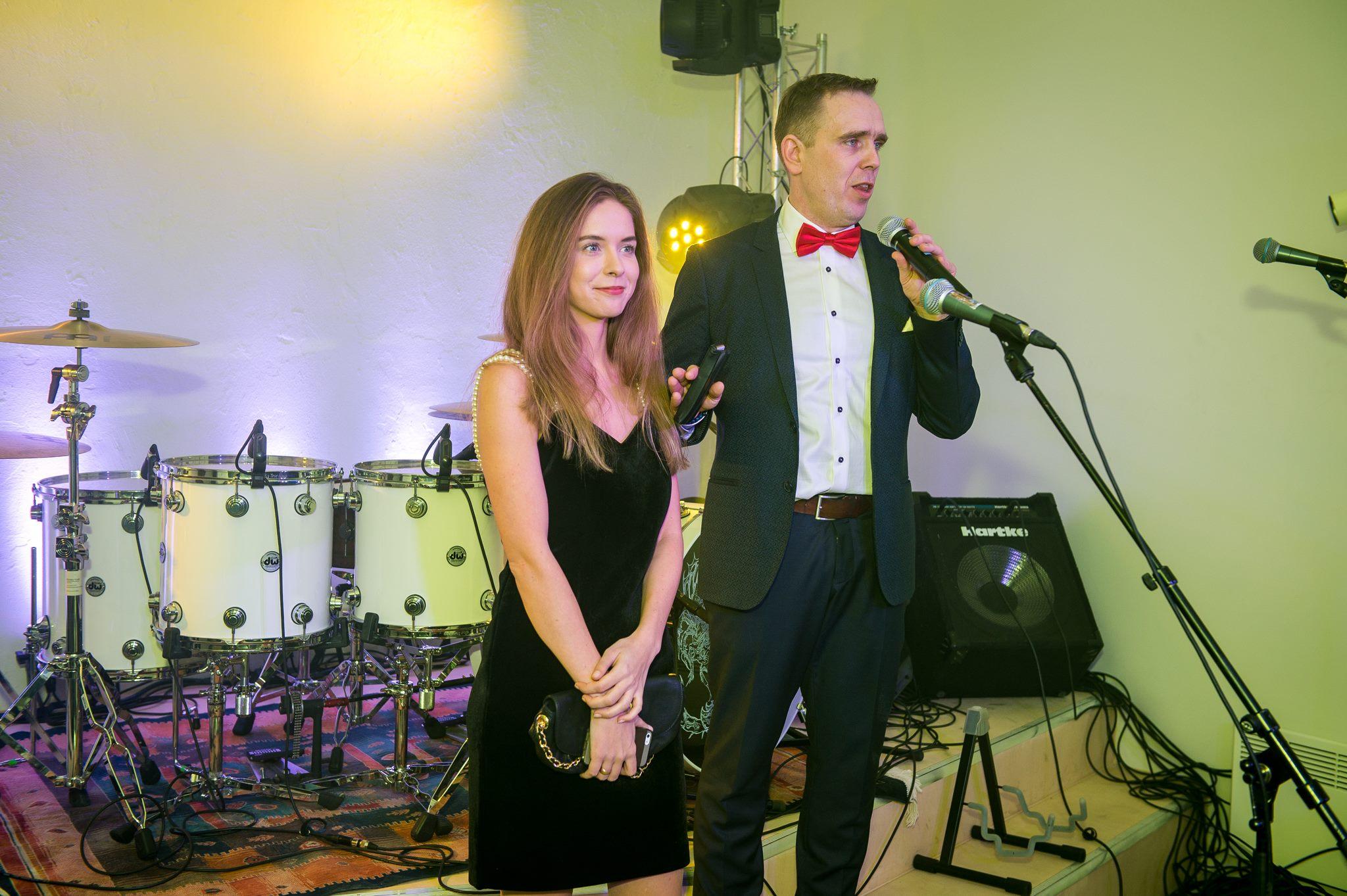 Ragnar Sass and Karina Univer