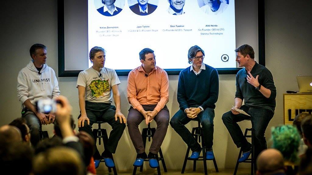 Original Skype founding team