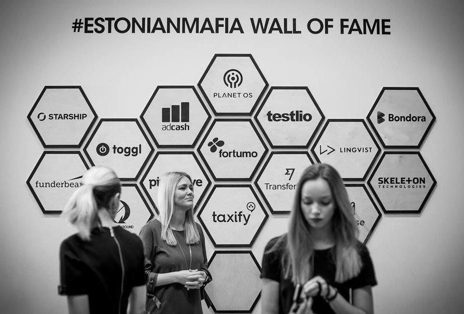 #EstonianMafia Wall of Fame @ LIFT99