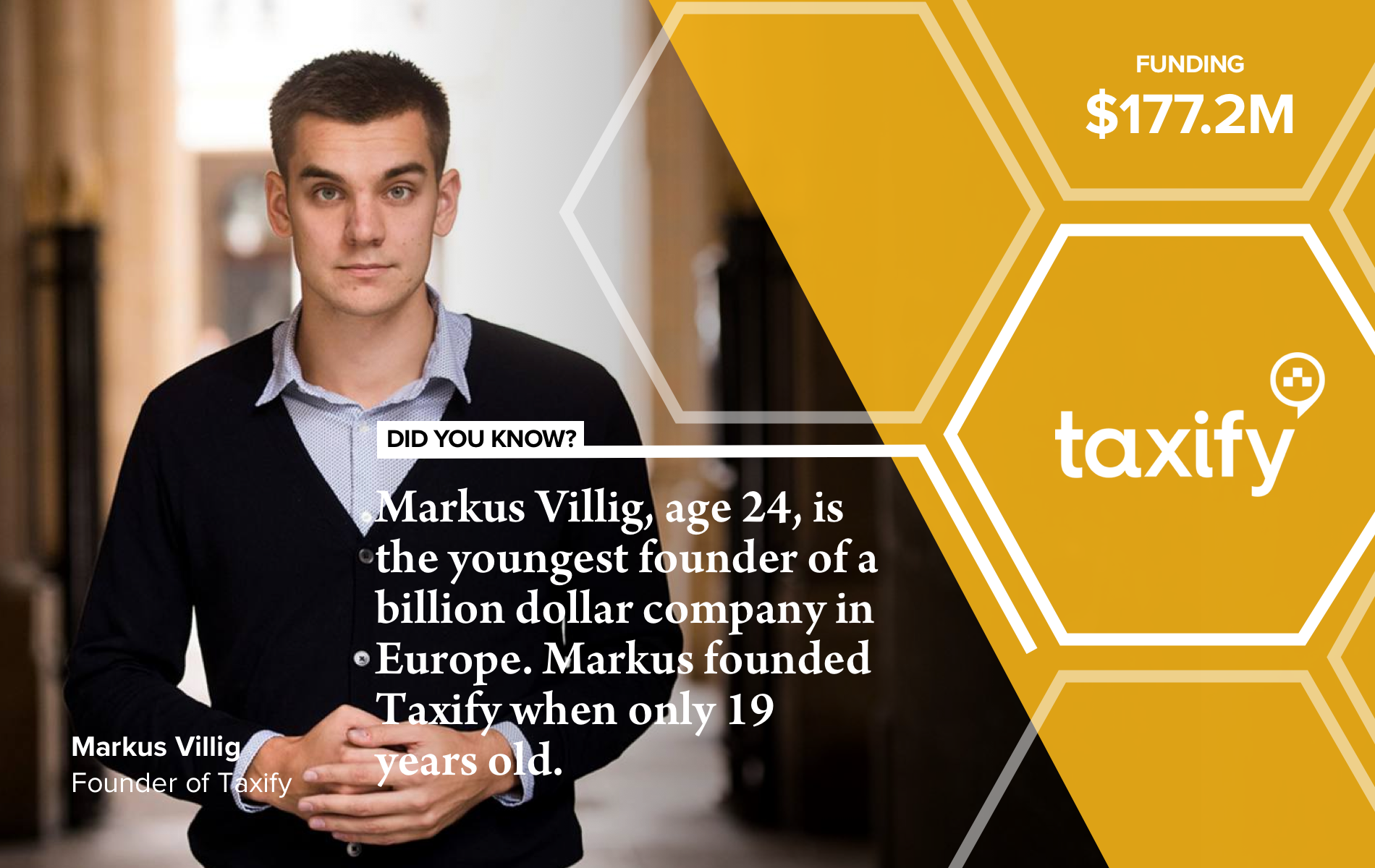 Markus Villig, the co-founder of Taxify