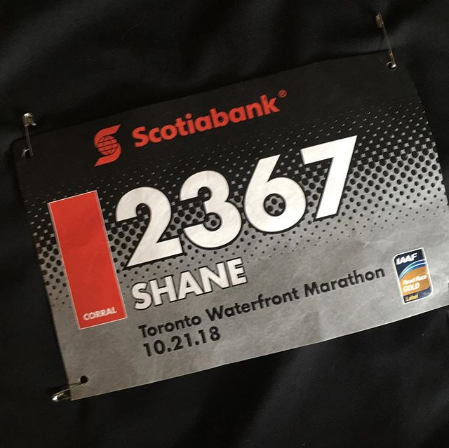 Tomorrow morning, I run the Toronto Marathon...I haven't run this distance since Boston 3 years ago. This is my BIB #. If you wanna geek out and track me, download the app and enter my number! Race starts at 8:45...I imagine I'll cross the finish somewhere around 11:45, give or take...we'll see what happens. The winners of the race start crossing the finish line around 10:45. This event is a truly inspiring one to attend. So many people, months of training...towards this goal. The athleticism is really something to behold. If you can, come cheer on the runners (and me!) tomorrow...the encouragement really does help. ❌⭕️🏃🏽‍♂️☮️