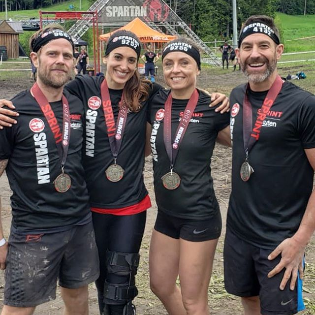 Spartan Race 2019.  I don't mean to brag but we killed it. 💪
