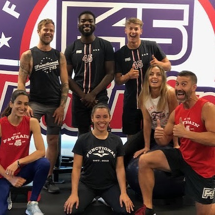 My fitfam at F45 The Junction! These folks are glorious and inspire me daily to love what I do at work and it sure is fun working and playing with them! ✌️💪