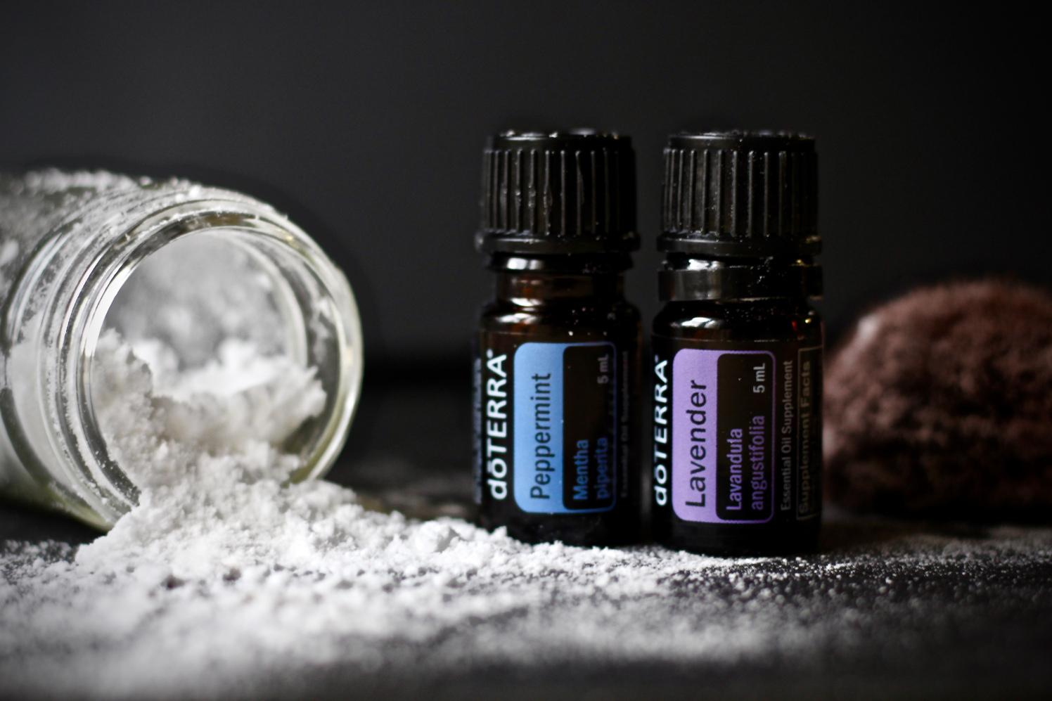 Dry Shampoo arrowroot powder essential oil