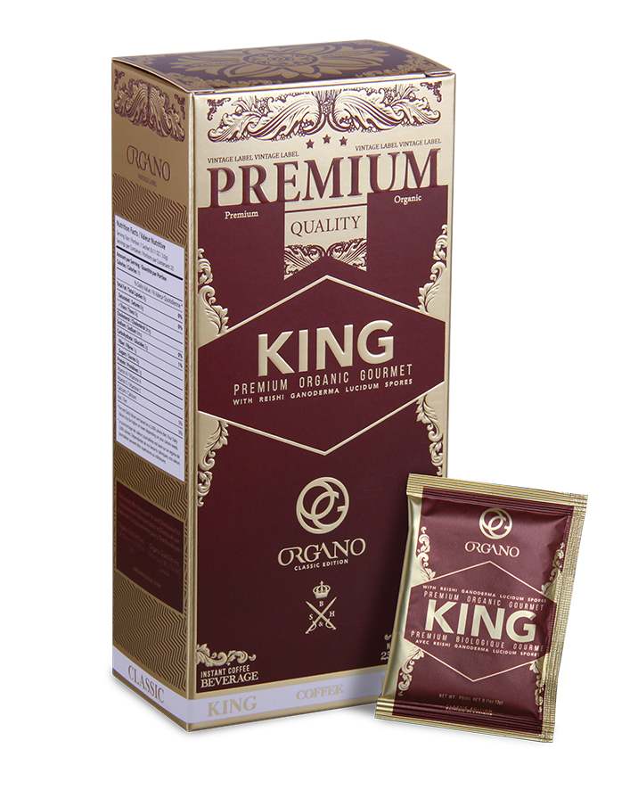 Organic King Coffee— organic coffee with 100% organic Ganoderma Spore powder. Tastes amazing and contains anti-inflammatory and mood boosting properties.  Learn more  here . Order a sample  here.