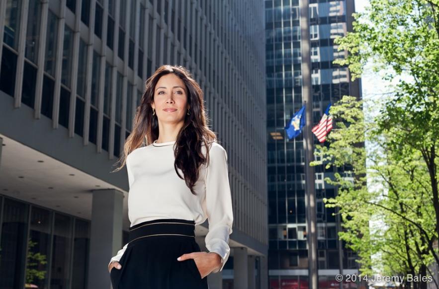 Christina Alfonso in Manhattan for Worth Magazine.