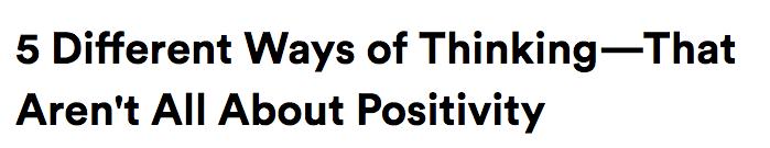 Positivity Boost